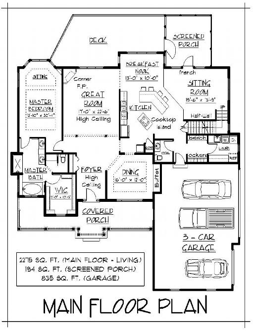 Free Home Plans 2 Family House Plans