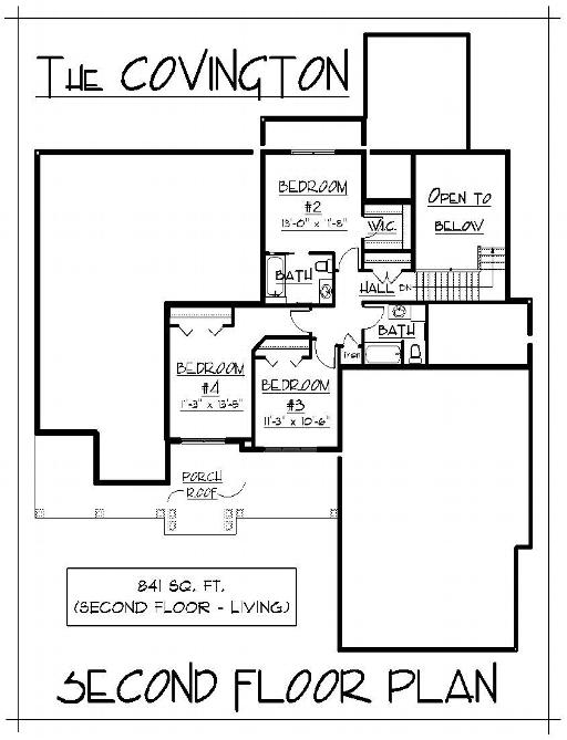 2 story house floor plans. More 2-Story Homes